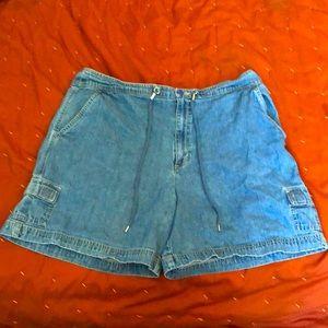 plus size shorts white stag black shorts 16w shorts